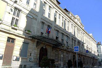 3rd arrondissement of Lyon - Western facade of the town hall of the 3rd arrondissement