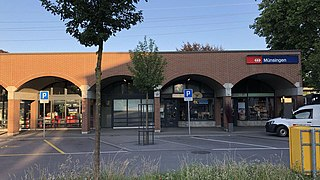 Münsingen railway station railway station in Switzerland