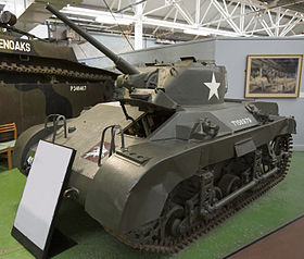 . Light Tank (Airborne) M22 visible au Bovington Tank Museum