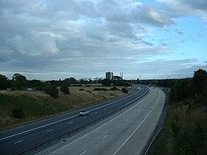 M271 motorway - Image: M271 Southbound, Southampton geograph.org.uk 28741
