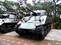 M4A4 in Tanks Park, Armor School 20130302c.JPG