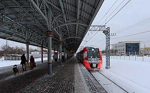 Baltiyskaya (Moscow Central Circle) - Image: MCC 01 2017 img 15 Baltiyskaya station