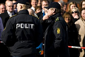Police of Denmark - Police officers in daily utility uniform