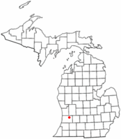 Location of Hopkins Township