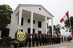 """MINISTRO DE DEFENSA PRESIDIÓ CEREMONIA DE HOMENAJE A VALEROSOS COMANDOS """"CHAVÍN DE HUÁNTAR"""" (25974575064).jpg"""