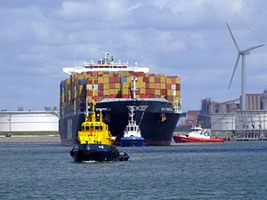 MSC Pamela p03, at the Amazone harbour, Port of Rotterdam, Holland 29-Jul-2007.jpg