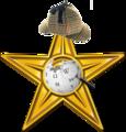 MWA Odznaka Sherlocka Holmesa zloto.png