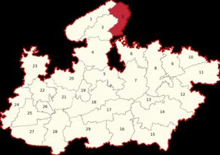 Bhind (Lok Sabha constituency) Lok Sabha Constituency in Madhya Pradesh, India