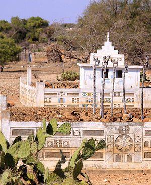 Mahafaly - Mahafaly tomb