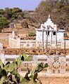 Mahafaly tomb with aloalo detail south Madagascar 2.jpg