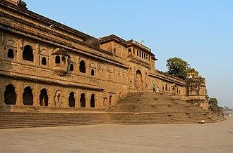 Maheshwar - Fort Ahilya of the Holkar dynasty, in Maheshwar.