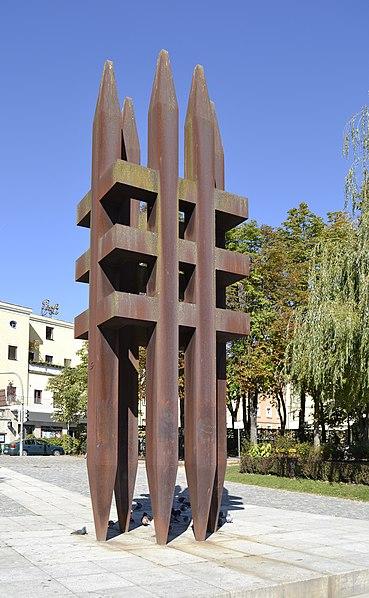 Datei:Mahnmal für die Opfer des Nationalsozialismus in Passau, 2011.jpg