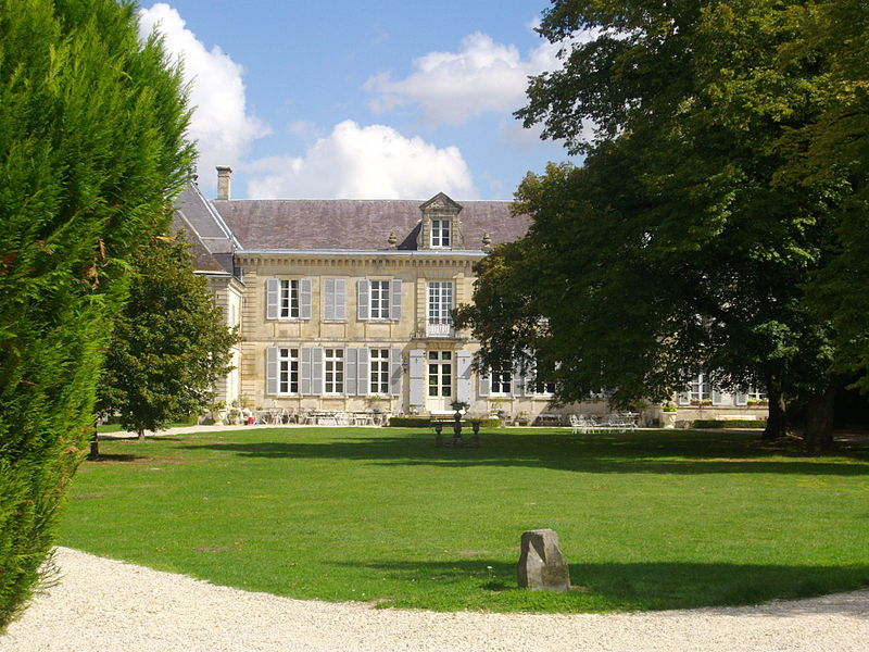 Castle of Mairy-sur-Marne (Marne, France)