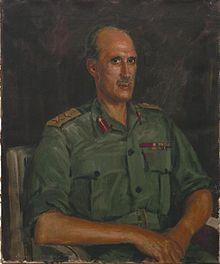 Major-general R F S Denning, Cb Art.IWMARTLD5922.jpg