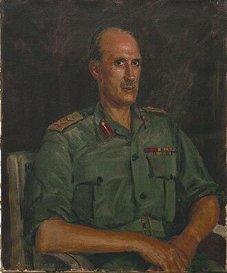 Major-general R F S Denning, Cb Art.IWMARTLD5922.jpg