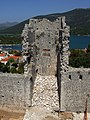 Mali Ston - wall tower.JPG