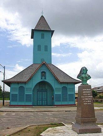Mana, French Guiana - The church of Saint-Joseph of Mana