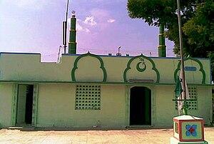Manamadurai - The holy dargah of Paanch Peer Shuhadaa at Kannar Street, Manamadurai