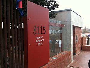 Benedict Wallet Vilakazi - Vilakazi Street is where Mandela House (and Tutu House) is in Soweto