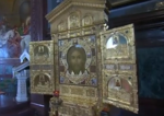 Mandylion icon in Sretensky Monastery (Moscow) 08.png
