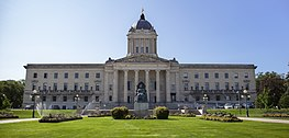 Manitoba Legislative building exterior