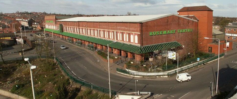 Mansfield Rosemary Centre shopping arcade