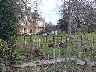 Cobham Park village in United Kingdom