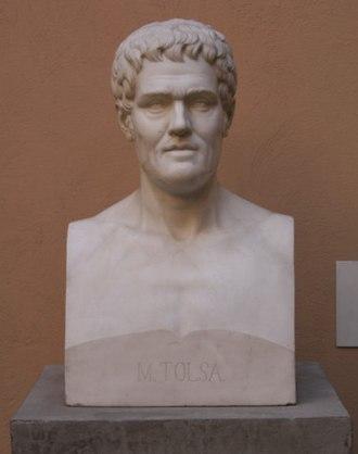 Manuel Tolsá - Bust of Manuel Tolsá, by Martín Soriano
