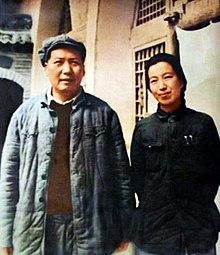 Mao and Jiang Qing 1946