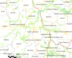 Map commune FR insee code 23076.png