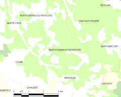 Map commune FR insee code 24495.png