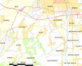 Map commune FR insee code 65331.png