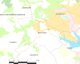 Map commune FR insee code 71309.png