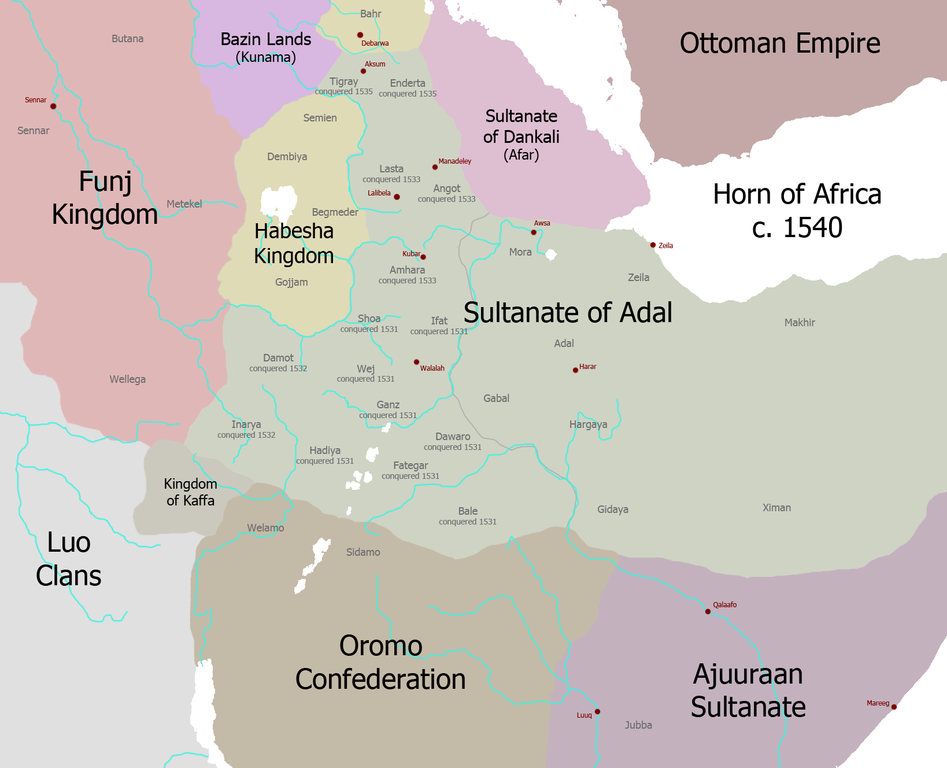 the conquest of africa