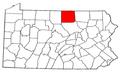Map of Pennsylvania highlighting Tioga County.png