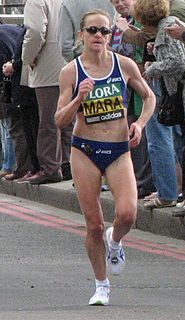 Mara Yamauchi British long distance track, and road running athlete