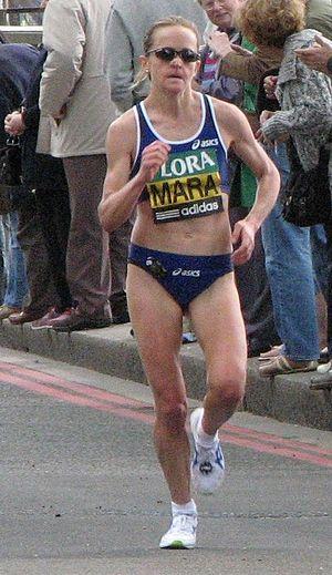 Mara Yamauchi - Mara Yamauchi at the 2009 London Marathon
