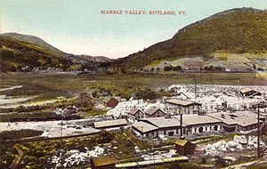 Rutland (town), Vermont - Marble Valley in 1911