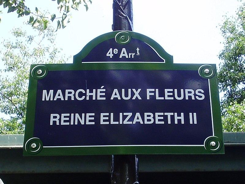 Fichier:Marché-fleurs-Elizabeth-II-plaque.jpg