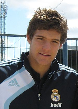 Marcos Alonso Mendoza - Alonso while at Real Madrid in 2010