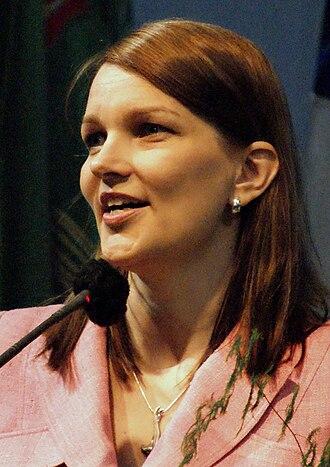 2011 Finnish parliamentary election - Mari Kiviniemi