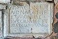 Maria Saal Karnburg Pfalzstrasse Pfarrkirche Lapidarium Grabtitulus 05102015 1653.jpg