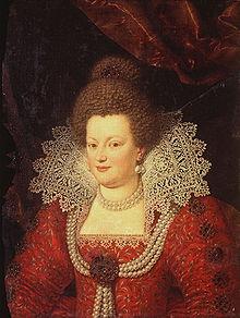 Maria de' Medici, seconda moglie di Enrico IV.