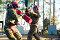 Marine recruits compete in simulated bayonet battles on Parris Island 131108-M-LQ078-027.jpg
