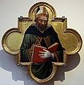 Mariotto di nardo, dottore della chiesa, forse agostino, 1402-04.JPG