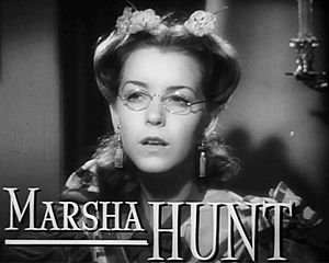 Marsha Hunt (actress, born 1917) - Hunt in the Pride and Prejudice trailer (1940)