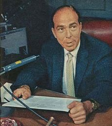 Martin Block on ABC 1957.JPG