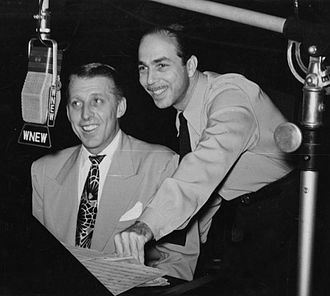Martin Block - Stan Kenton and Martin Block at WNEW.