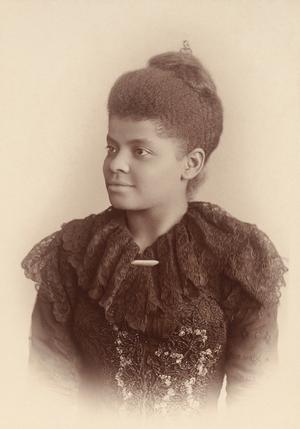 Alpha Suffrage Club - Ida B. Wells, circa 1893