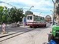 Masarykovo nábřeží, minibus Martin Tour.jpg
